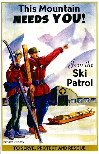 Image result for ski patrol